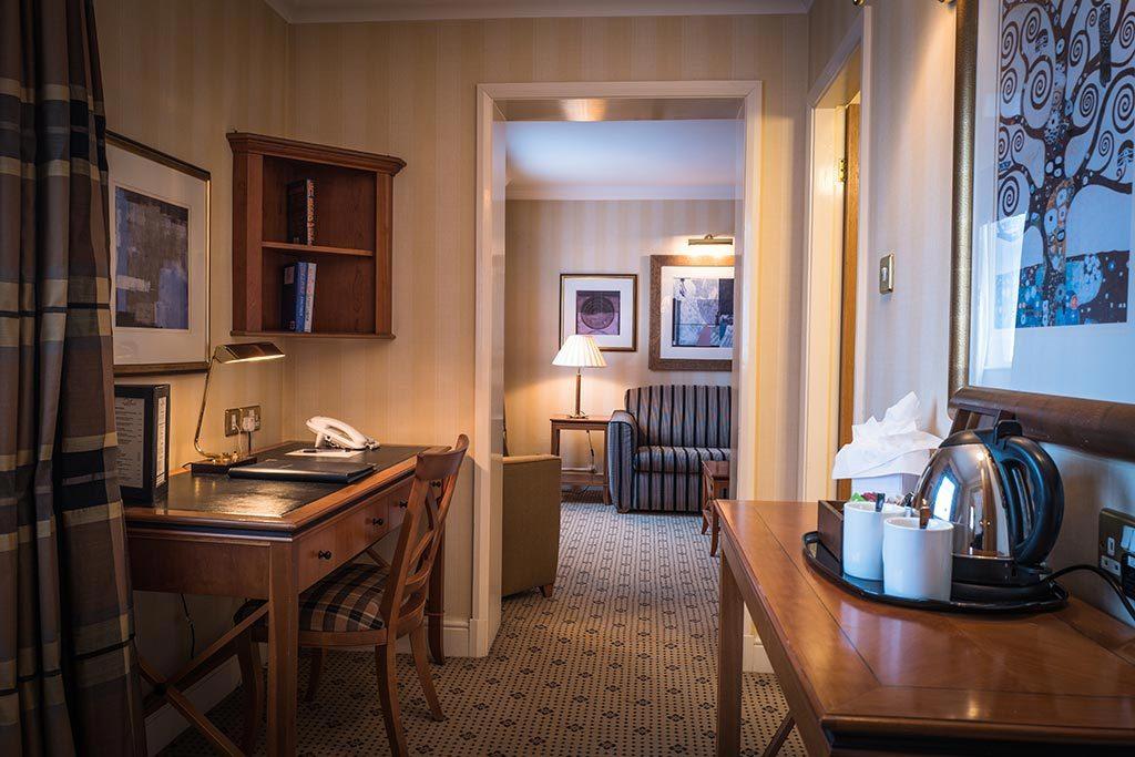 Apollo Hotel Deluxe Suite Hallway