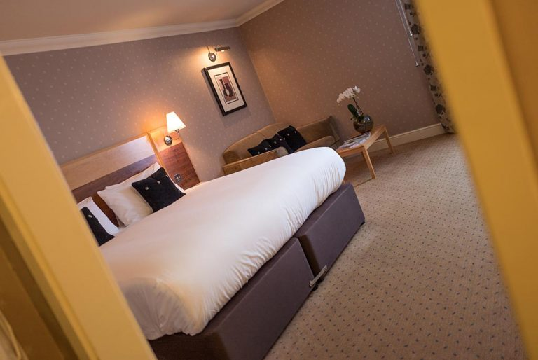 King Size Bed in Ambassador Room at Apollo Hotel Basingstoke