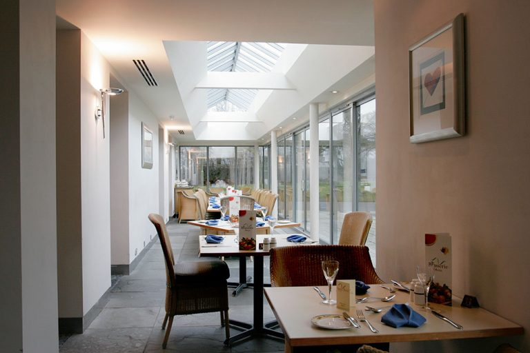 Brasserie Restaurant at The Conservatory Restaurant at Apollo Hotel in Basingstoke