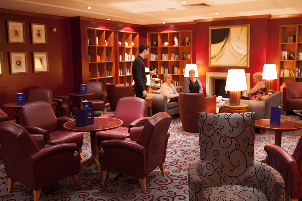 The library bar Apollo Hotel Basingstoke