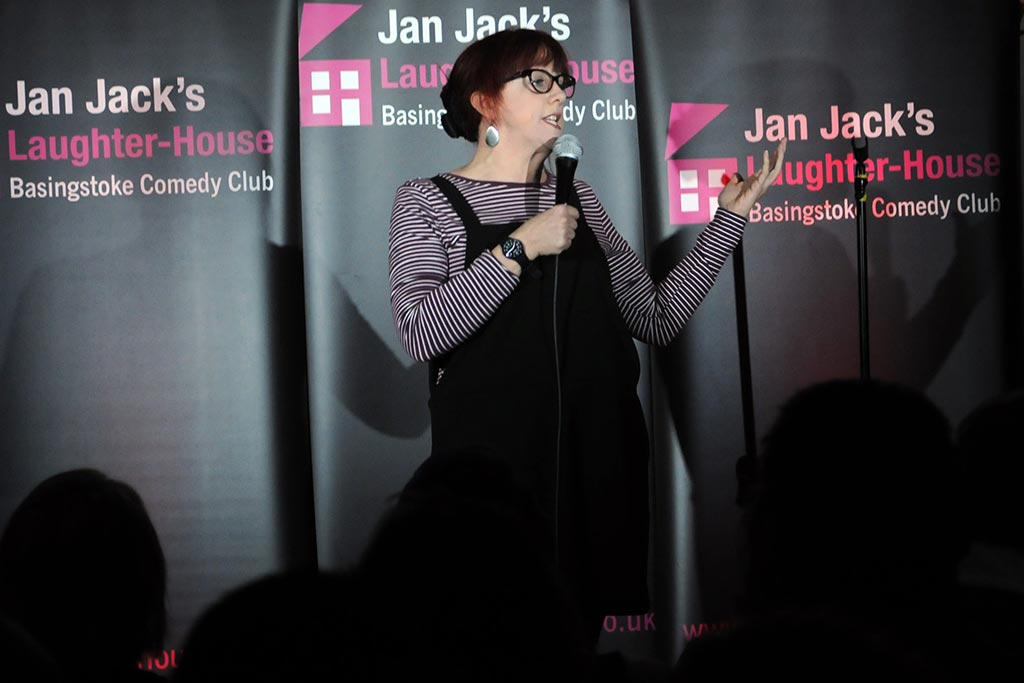 Laughter House Basingstoke Angela Barnes