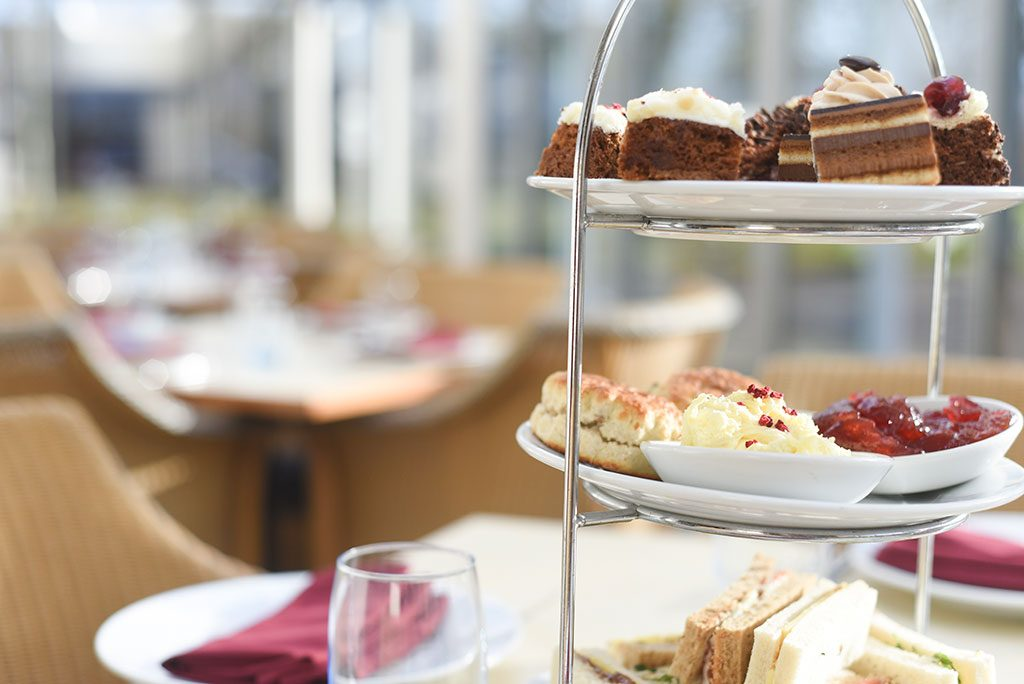 afternoon tea at Apollo Hotel Basingstoke