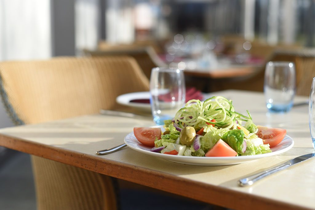 Basingstoke brasserie salad at Apollo Hotel