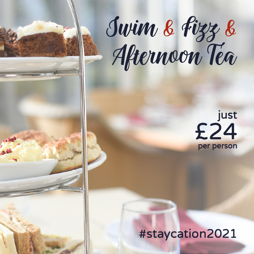 Afternoon Tea and Swim Offer