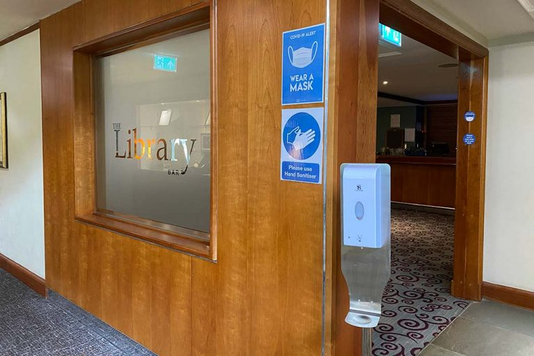 Safe work space at Apollo Hotel Basingstoke